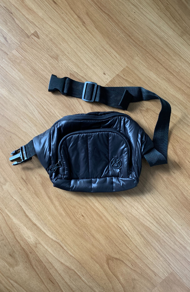 Fanny Pack - Quilted Black