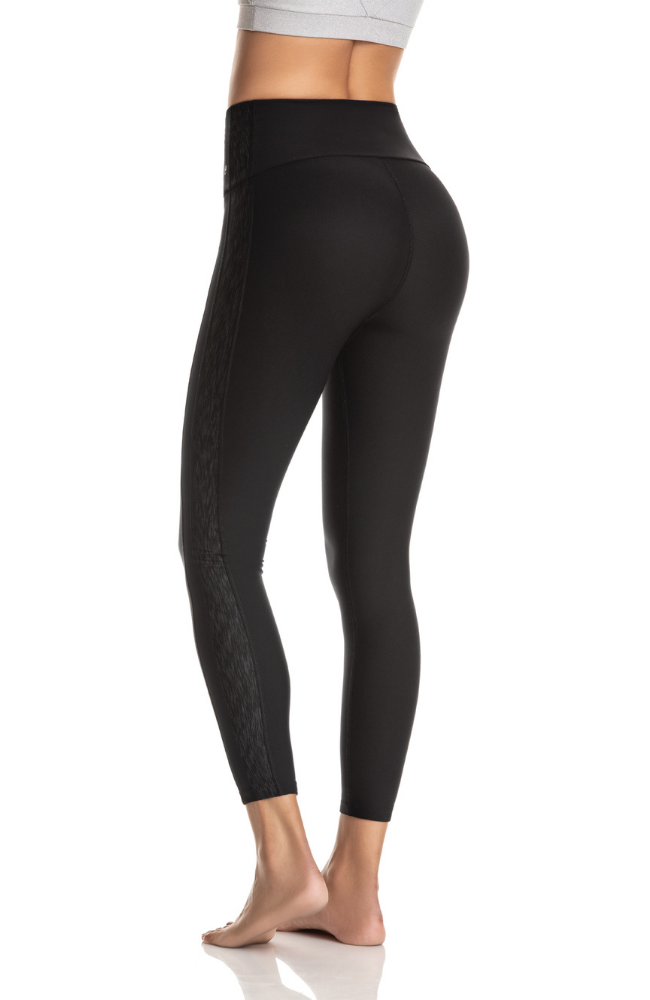Maaji Active Drive Black Legging Sweat Society Canada USA