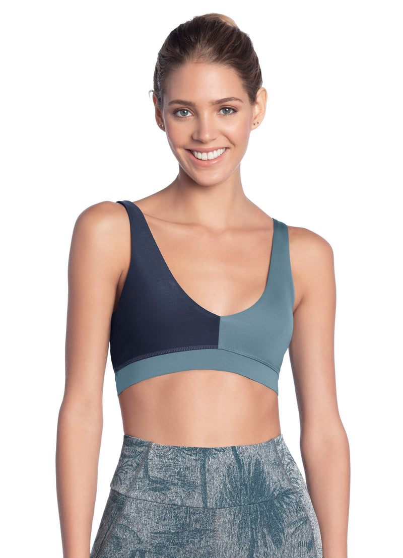 Sublime Aegean - REVERSIBLE 4-way Sports Bra