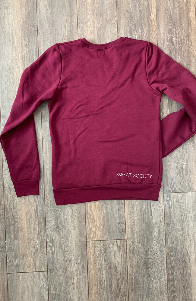 Sweat Society Activewear Scarlett Crew
