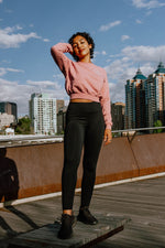 Sweat Society Ethical Activewear Cassie Crew