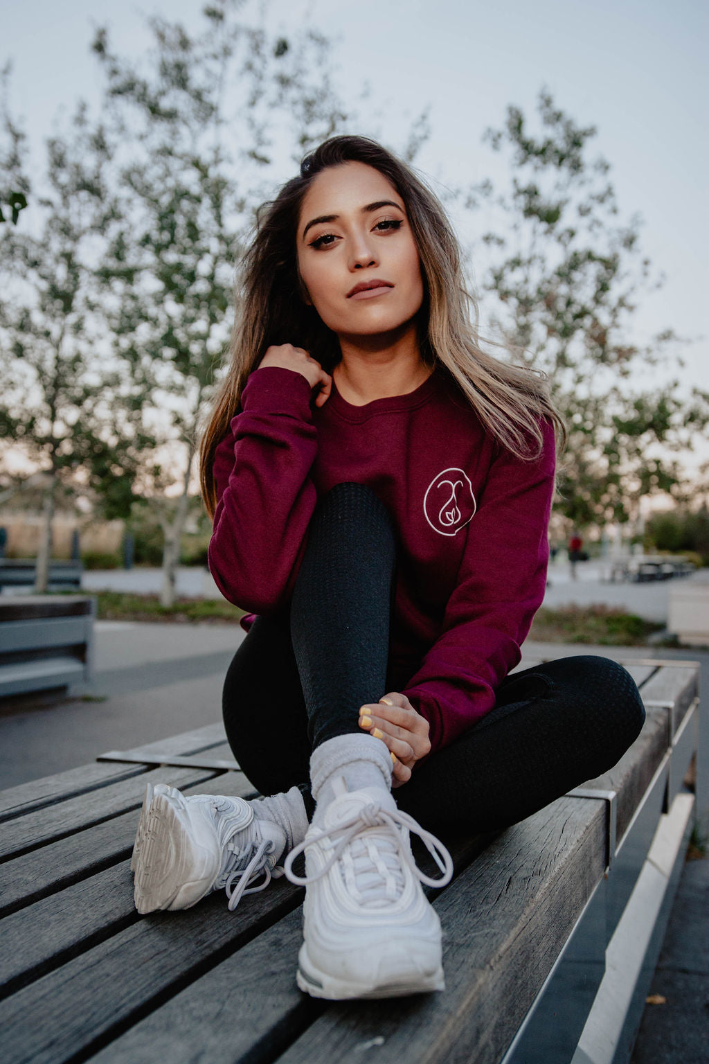 Sweat Society Ethical Activewear Scarlett Crew