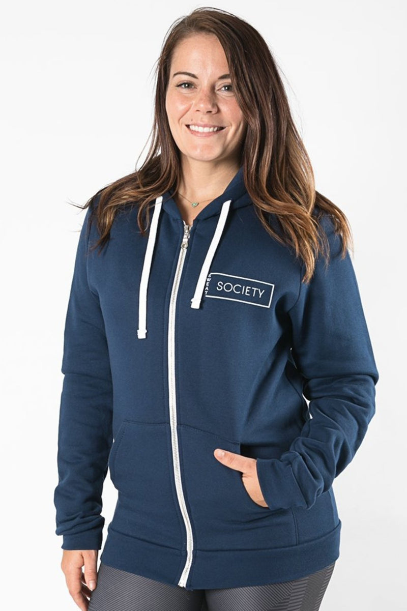 Sweat Society Brett Zip-up Ethical Activewear