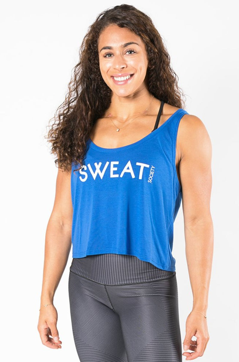 Sweat Society Becca Crop Ethical Activewear