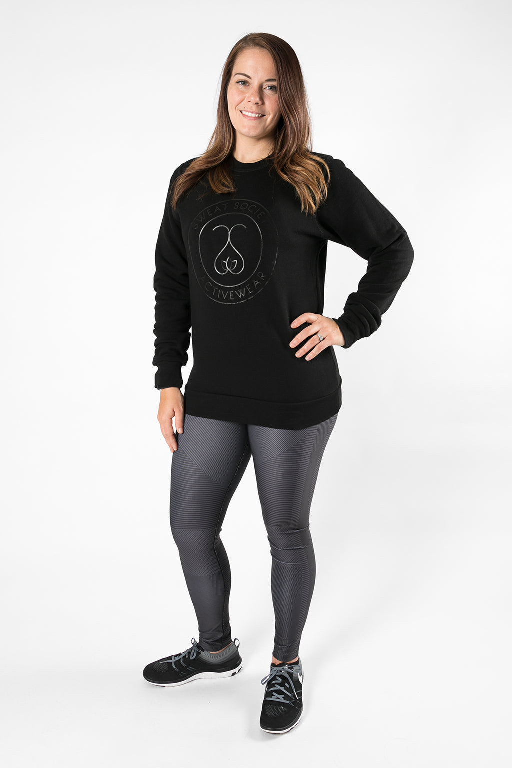 Sweat Society Colby  Bamboo Crewneck Ethical Activewear