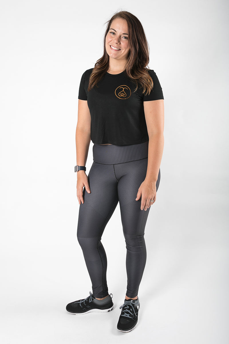 Sweat Society Dallas Cropped Tee Ethical Activewear