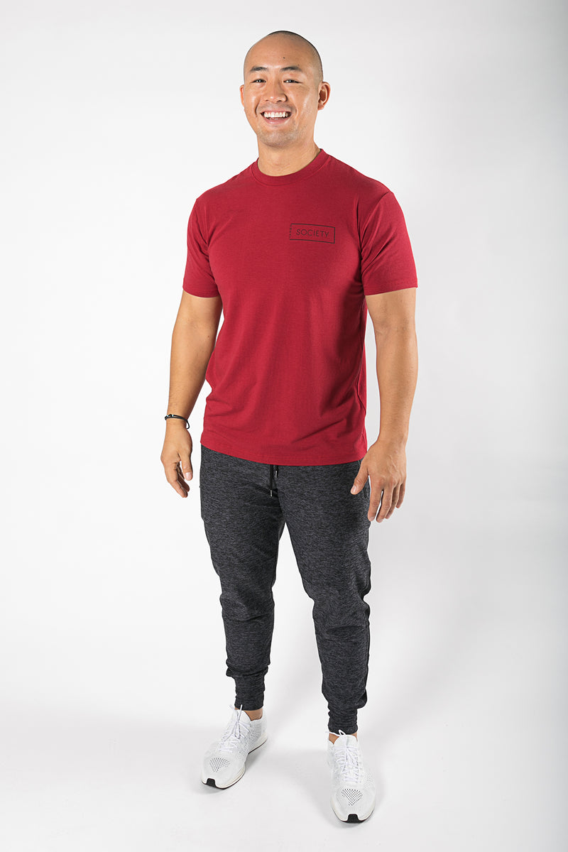 Sweat Society Damien Bamboo Tee Men's Ethical Activewear