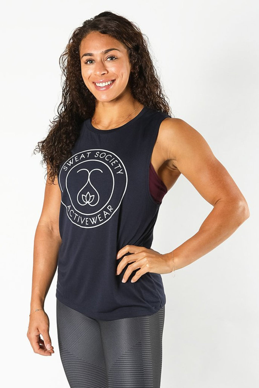 Sweat Society Jess Muscle Tank Ethical Activewear