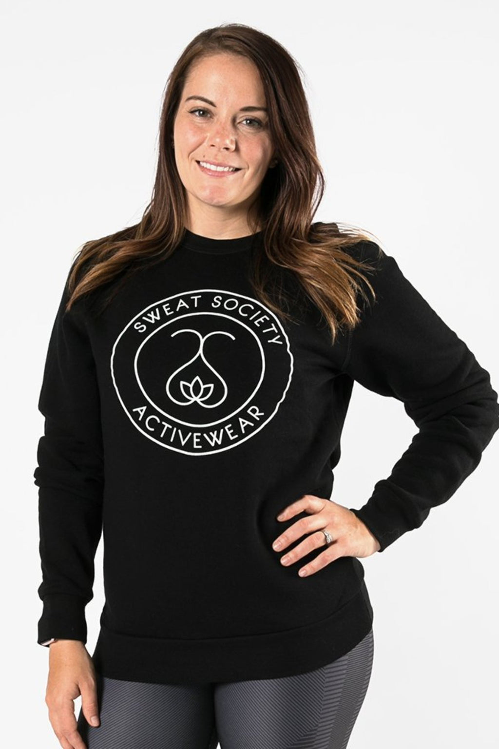 Sweat Society Krystal Bamboo Crewneck Ethical Activewear