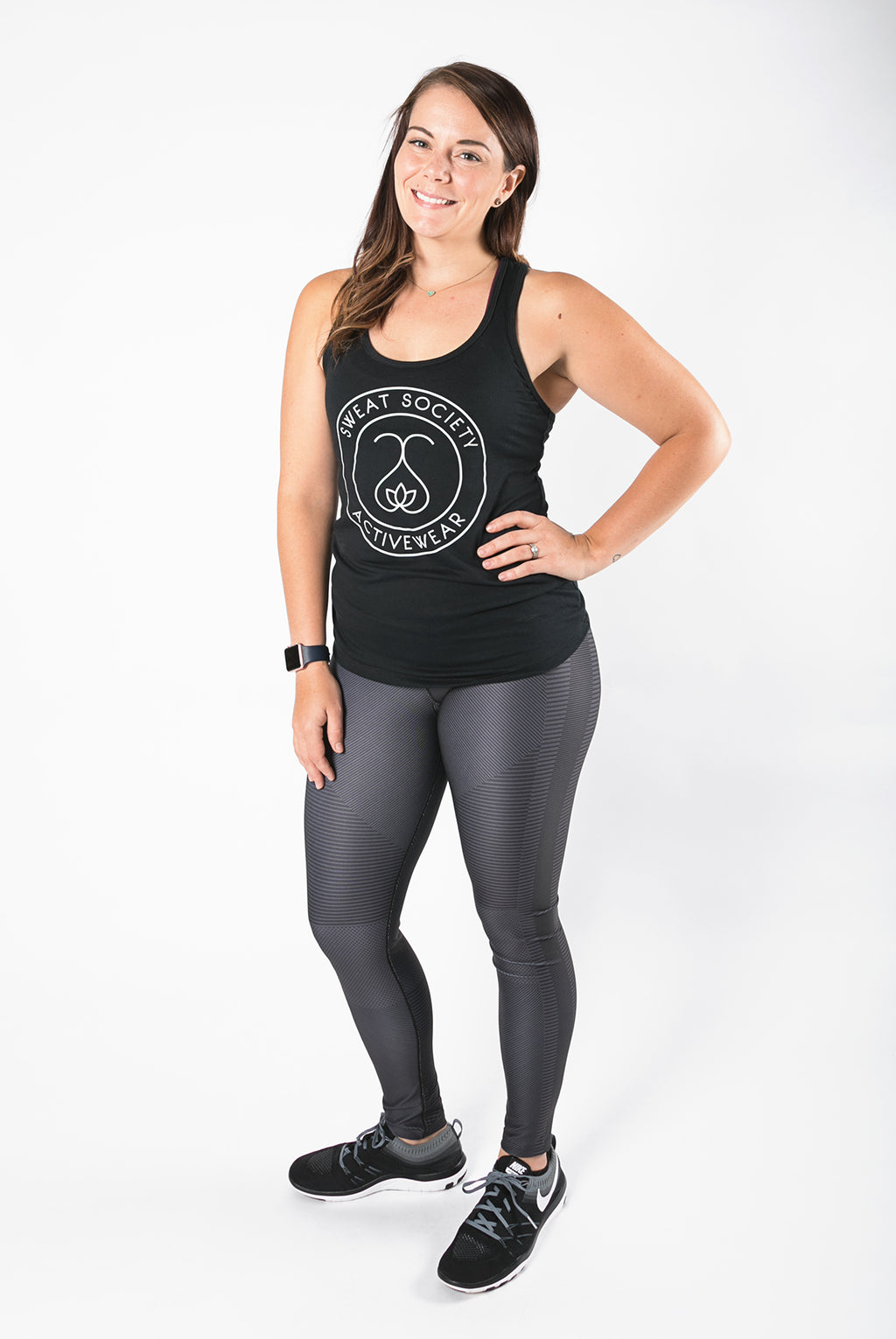 Sweat Society Krystal racerback Ethical Activewear