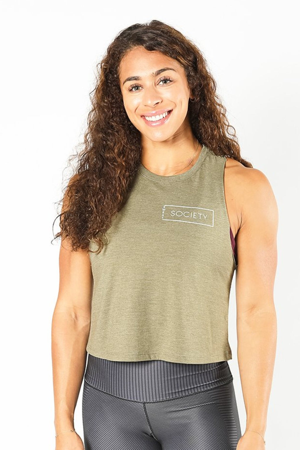 Sweat Society Liberty Tank Ethical Activewear Canada USA