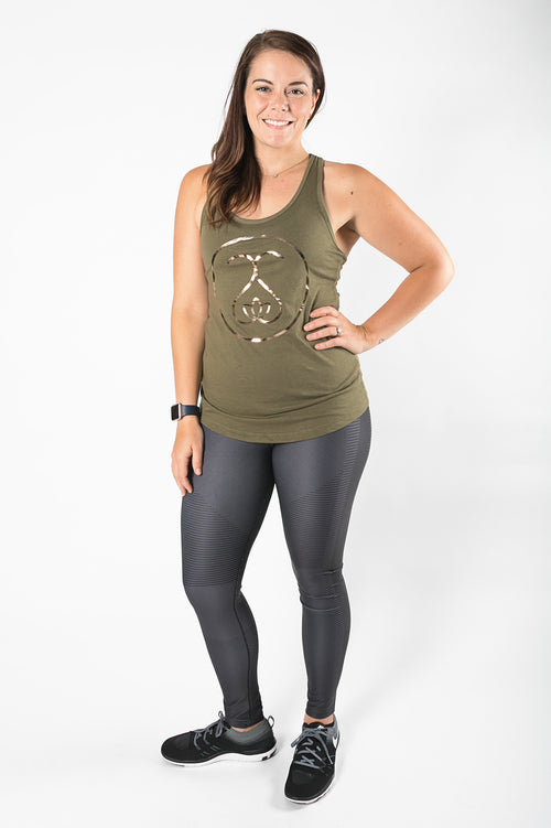 Sweat Society Megan Racerback Ethical Activewear