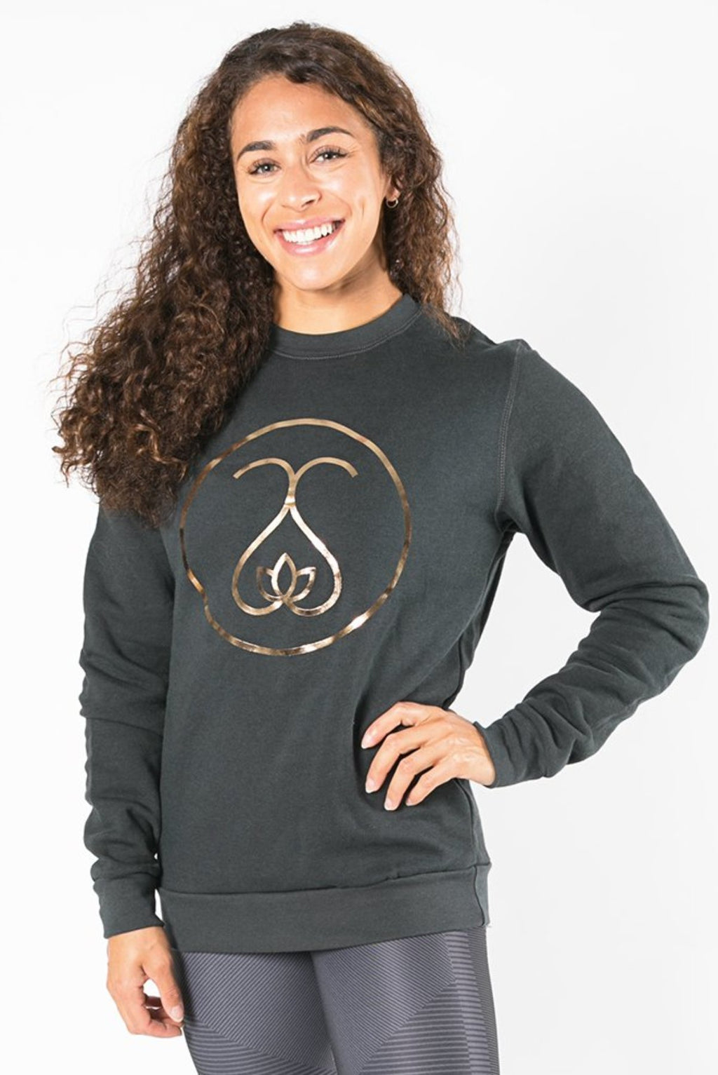 Sweat Society Nadia Bamboo Crewneck Ethical Activewear