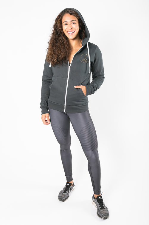 Sweat Society Nadia Zip-up Ethical Activewear
