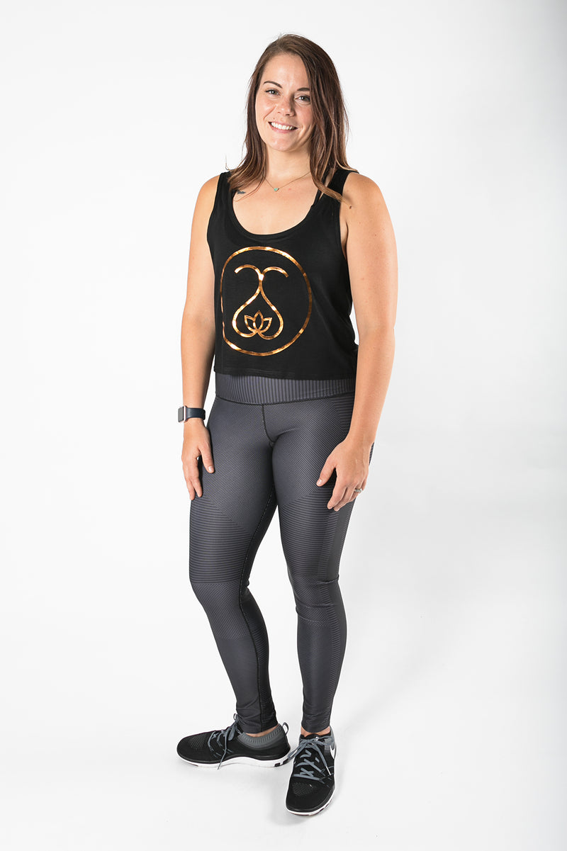 Sweat Society Sally Crop Ethical Activewear