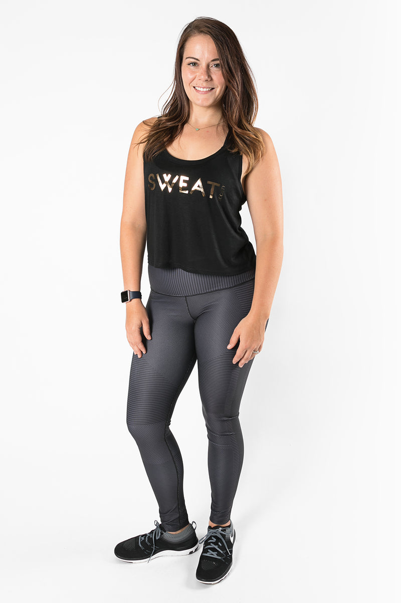 Sweat Society Suzie Crop Ethical Activewear
