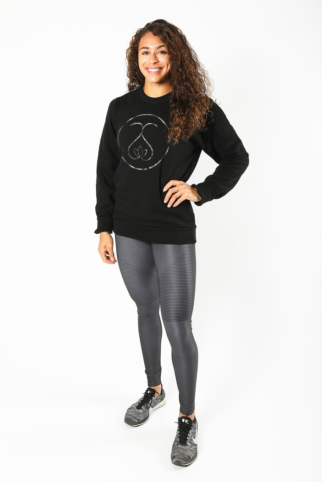 Sweat Society Bethany Bamboo Crew Ethical Activewear Canada