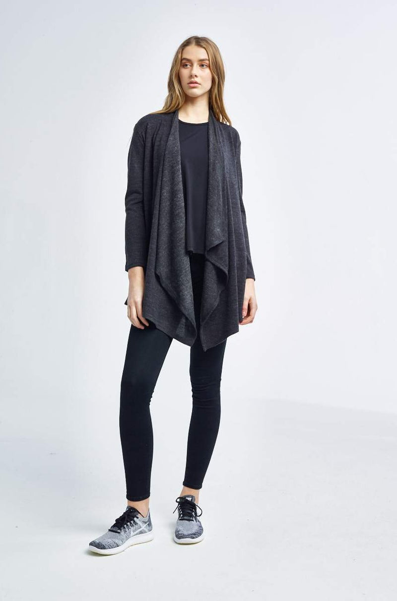 Tonic Activewear Sweat Society Amelia Wrap Black Canada USA