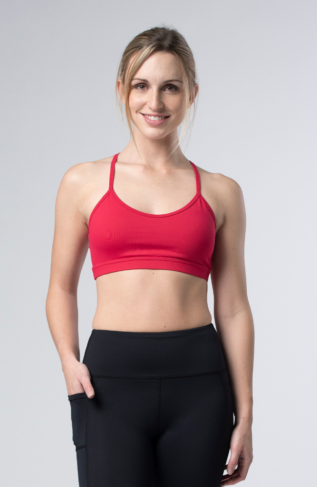 Tonic Active Dianthus Bra Sweat Society EThical Activewear Canada USA