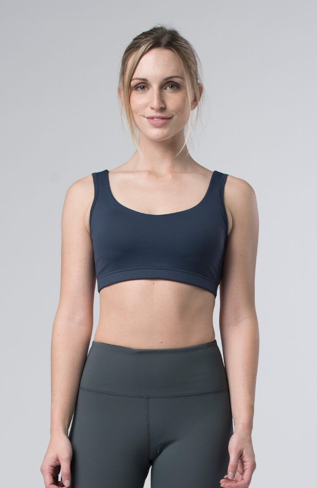 Tonic Active Peony Bra Sweat Society EThical Activewear Canada USA