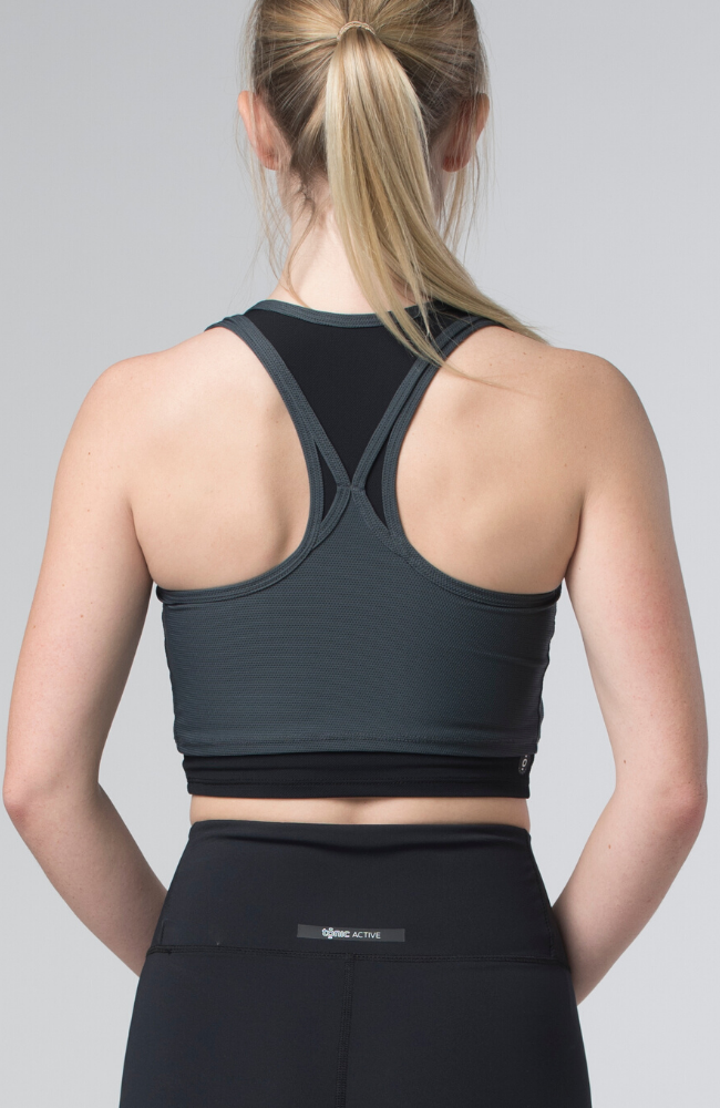Tonic Active Petunia Bra Sweat Society EThical Activewear Canada USA