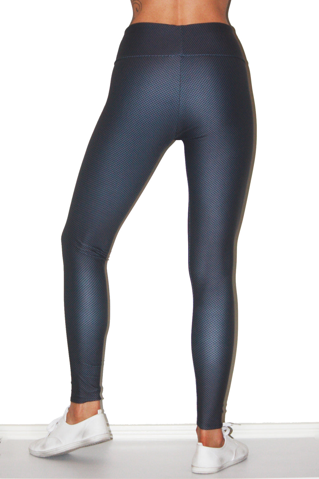 Shop Alea Active Sweat Society Vitality Tight Gunmetal Spot USA Canada