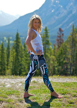 Shop NoMiNoU Sweat Society Wolf Teal Legging USA Canada