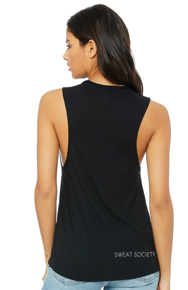Sweat Society Ethical Activewear - LIFT collection - SNATCH Muscle tank Canada USA