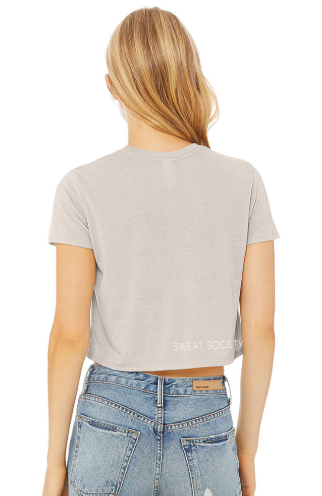 Sweat Society Ethical Activewear - LIFT collection - Crop top Canada USA