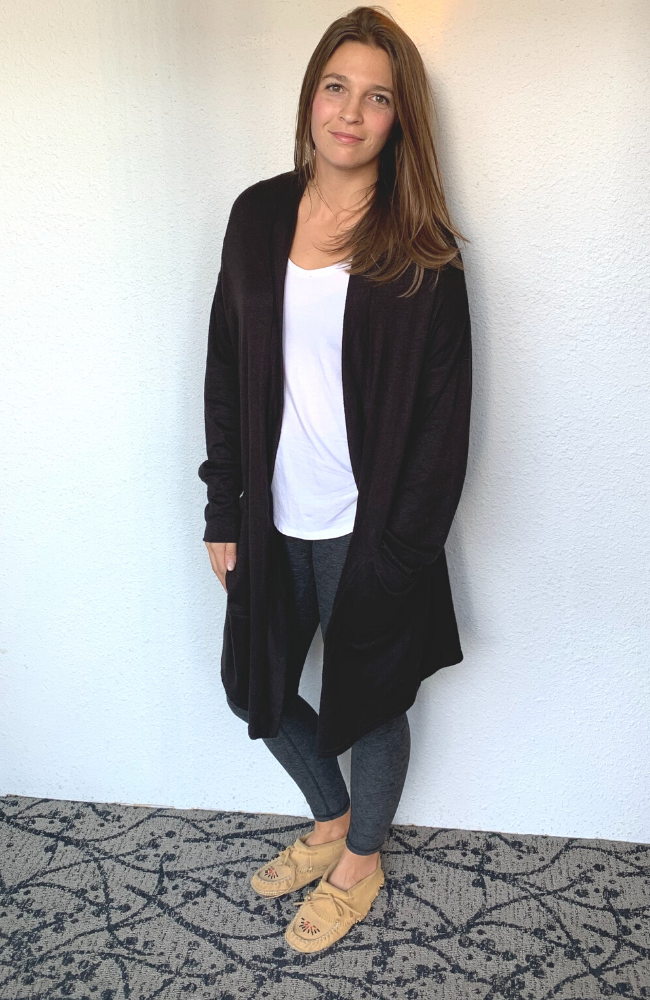 Mari Mid Sweater - Black