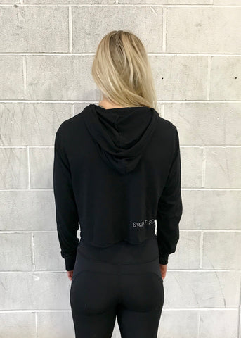 The Sally Hooded Crop