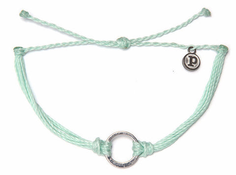 Silver Circle Charm - Shop Colours