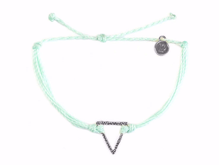 Silver Triangle Seafoam Pura Vida Canada USA Sweat Society