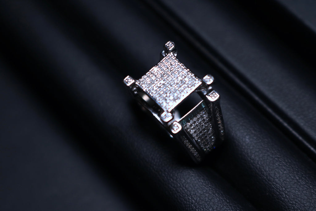 Diamond Square Top Ring