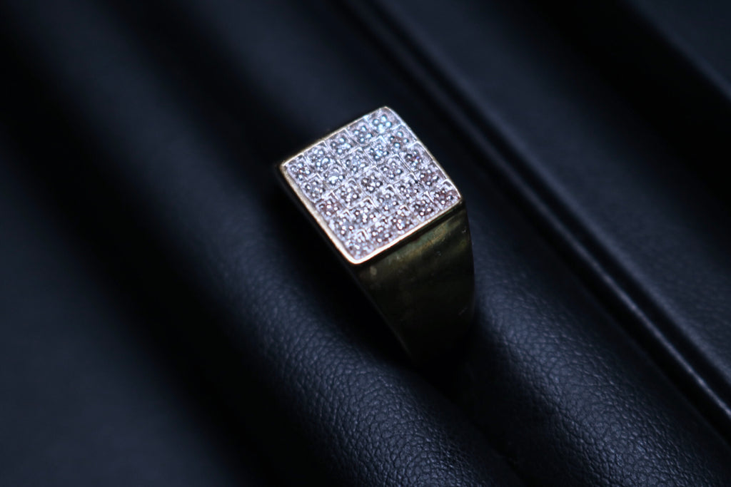 Diamond Signet Ring