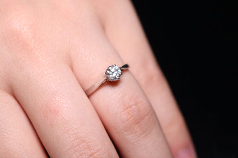 Solitaire 0.45ct