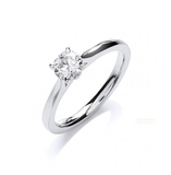 18ct White Gold 0.50ct Certificated Engagement Ring