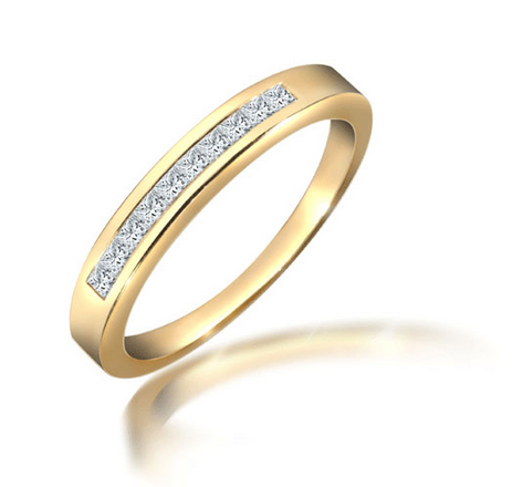 18ct Yellow Gold 0.25ct Diamond Ring