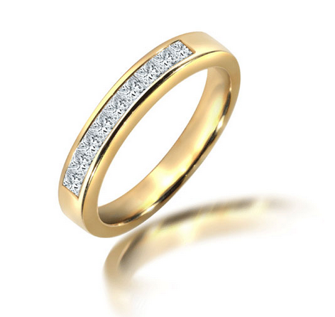 18ct Yellow Gold 0.50ct Diamond Ring