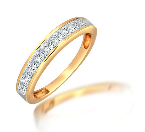 18ct Yellow Gold 1ct Diamond Ring