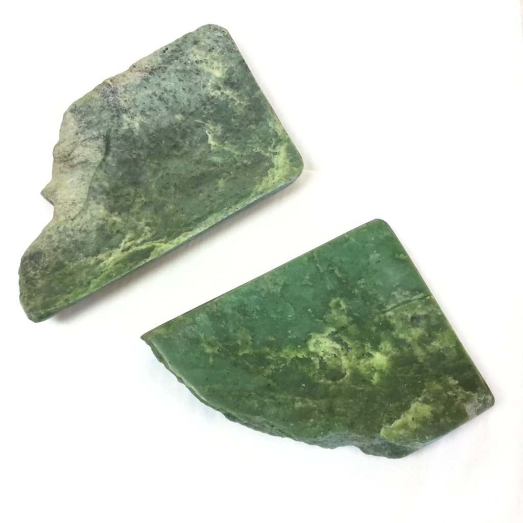JADE IRREGULAR PLATE (LARGE)