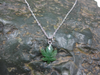 JADE MAPLE LEAF PENDANT