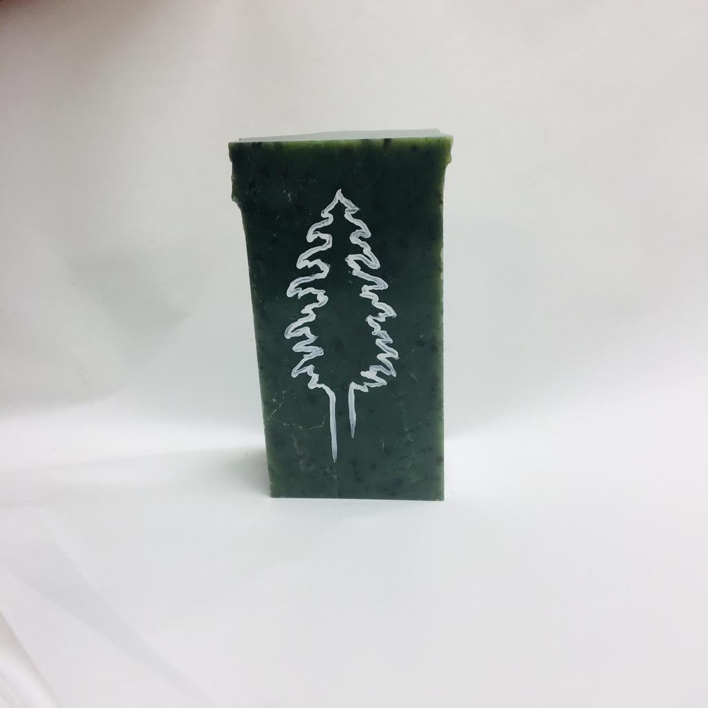 Tree painting, hand painted in Jade City