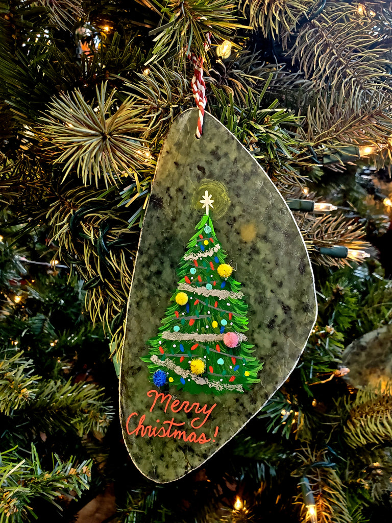 Christmas Ornaments Hand Painted in Jade City