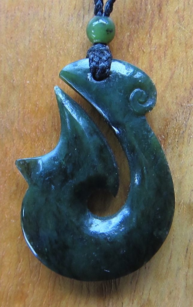JADE FISH HOOK