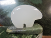 WHITE SPIRIT BEAR ON JADE BASE