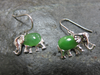 JADE ELEPHANT EARRINGS