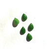 High grade, jade pear shape cabochon