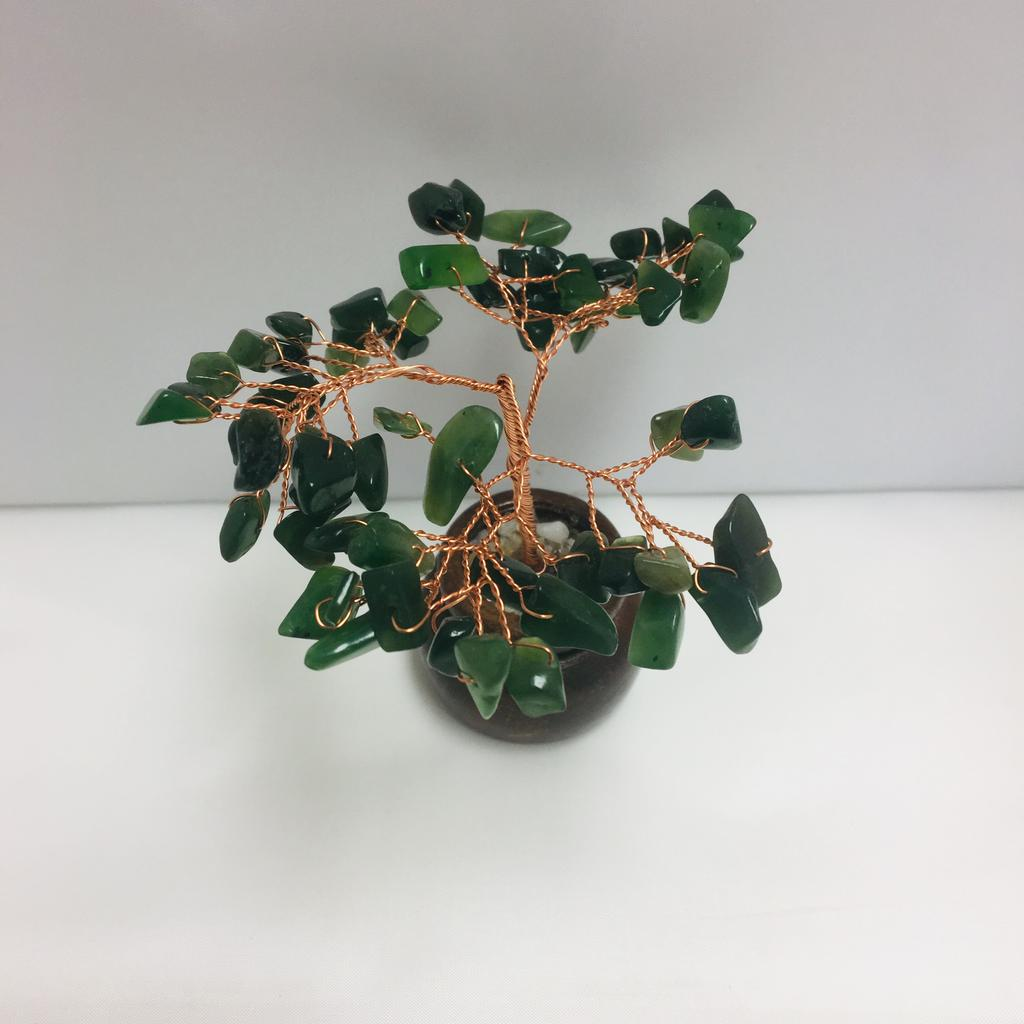 Jade gem tree