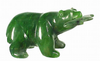 JADE BEAR WITH FISH, 2 INCHES